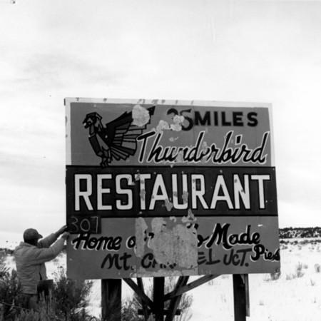 Thunderbird Restaurant in Garfield County