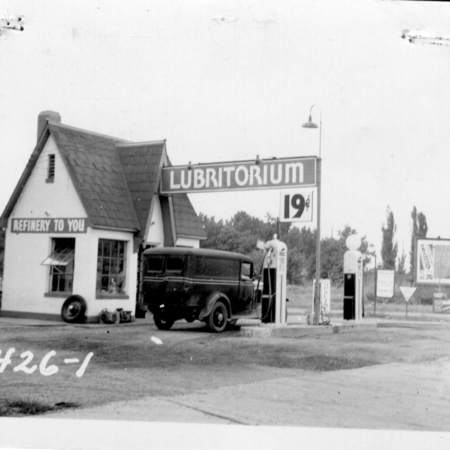 Lubritorium-Service Station at 1100 South State Street in Salt Lake City, UT.