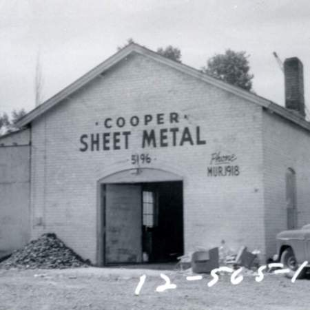 Cooper Sheet Metal at 5196 South State Street in Murray, UT.
