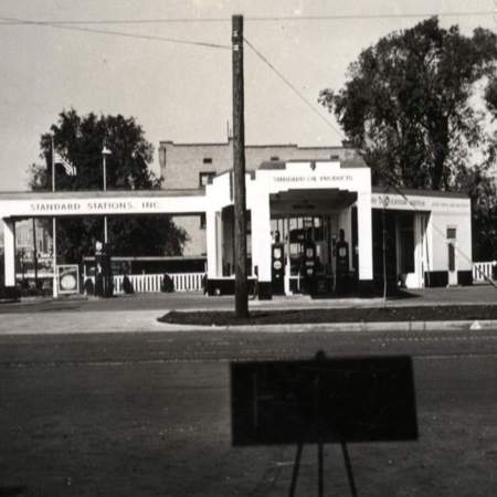 Standard Oil Service station at 875 South State Street in Salt Lake City, UT.